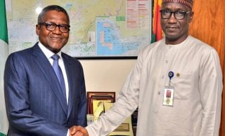 We are not competing with you, Dangote tells NNPC