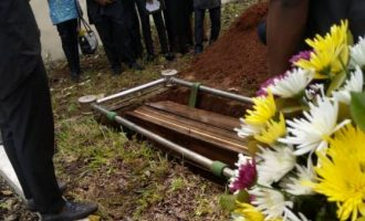 PHOTOS: Nigerian director killed in South Africa buried