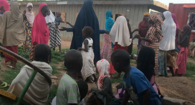 VIDEO: Inside IDP camp where 130 children are locked out of classrooms
