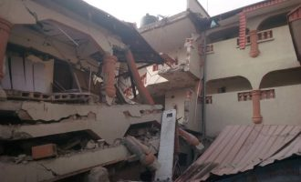 Many escape death as hotel building collapses in Ebonyi