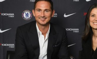 Frank Lampard appointed as Chelsea manager to succeed Sarri