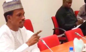 VIDEO: Don't threaten me with suspension, Senator Abbo tackles Remi Tinubu