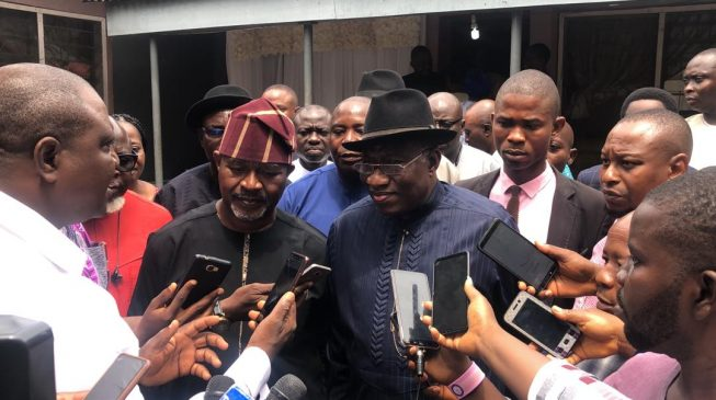 Insecurity getting worse under Buhari - Jonathan