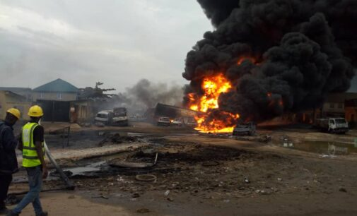 Baru blames vandals for Ijegun pipeline explosion, orders immediate repairs