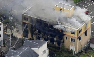 Many dead, injured in attack on Japan animation studio
