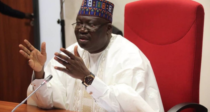 FG working to secure Nigeria within two months, Lawan says — after meeting Buhari
