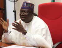 Lawan: Since civil war, our military hasn't been involved in warfare like now