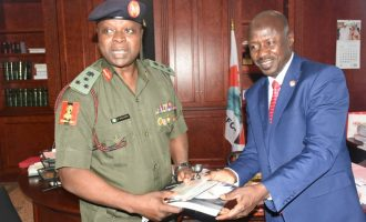 Magu decorates NYSC DG as anti-corruption ambassador