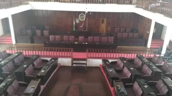 Lawmakers flee as snake creeps into Ondo assembly