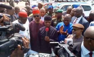 Osinbajo: Anambra has a special place in Buhari's heart