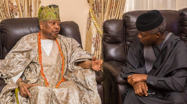 Osinbajo: We're consulting with traditional rulers to boost security
