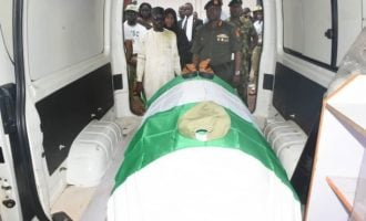 PHOTOS: NYSC pays last respect to Channels TV reporter killed during Shi'ites protest