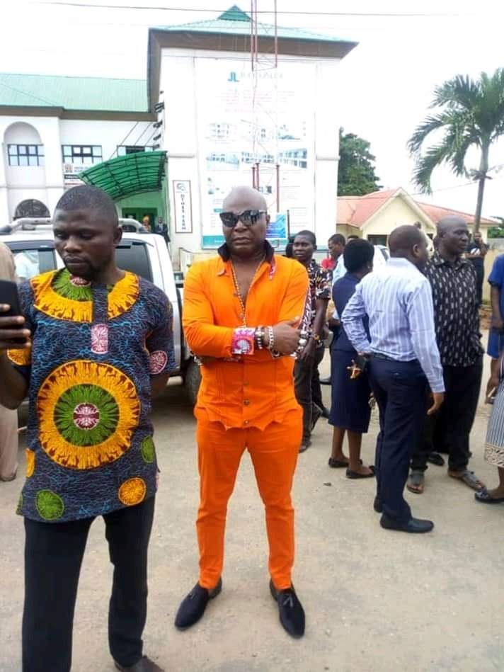 RCCG protest2 - [PHOTOS] Eedris Abdulkareem, Baba Fryo, others ask Pastor Adeboye to speak on RUGA settlement