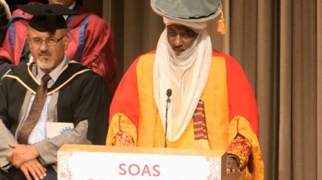 Sanusi bags honourary degree from SOAS University of London