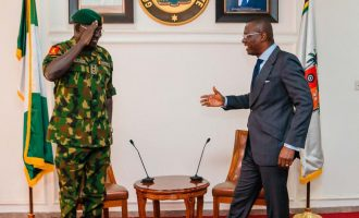 PHOTOS: Sanwo-Olu hosts Buratai