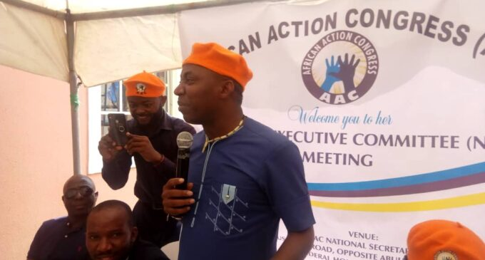 VIDEO: The moment DSS operatives arrested Sowore