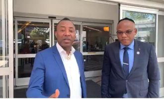 Sowore, Nnamdi Kanu meet in US, discuss 'how to fight Nigerian oppressors'