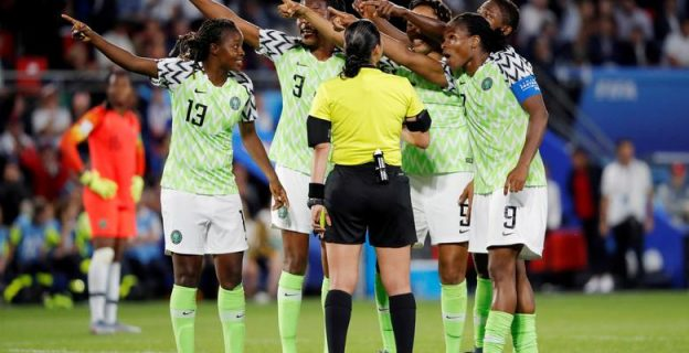 Super Falcons featured on reuters moving pictures