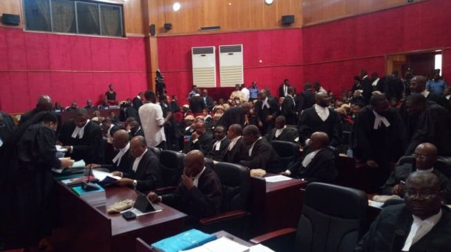 Presidential tribunal reserves judgement