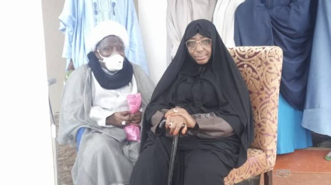 Zakzaky, wife at Abuja airport ahead of medical trip to India