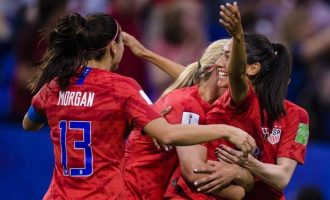 US beats England to reach Women's World Cup final