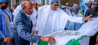 Buhari inaugurates CBN centre of excellence in ABU