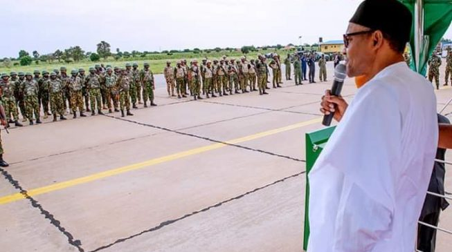 Buhari to military: Eliminate bandits wherever you find them