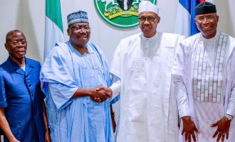 Lawan: This n'assembly won't fail Buhari