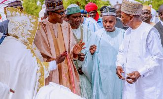 We enjoy power supply only when you are around, Daura leaders tell Buhari