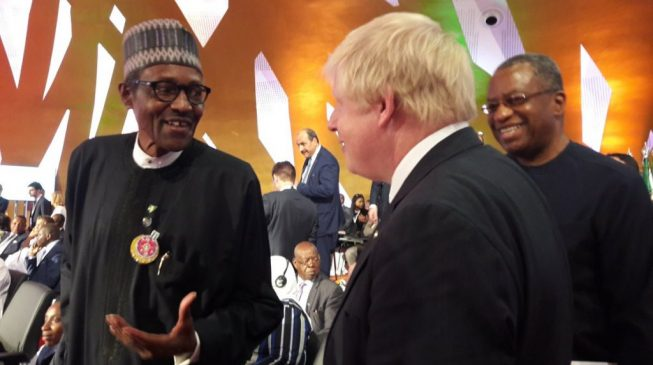 Buhari commends Boris Johnson for appointing British-Nigerian as minister