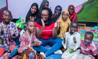 DJ Cuppy visits kids displaced by Boko Haram in Maiduguri, calls for 'emergency support'