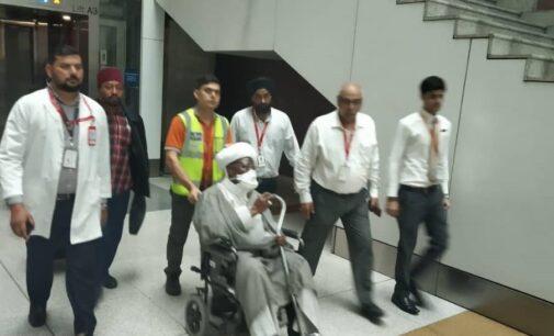 PHOTOS: Indian medics receive El-Zakzaky
