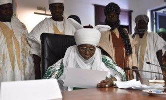 There's hardship in the land, says emir of Zazzau