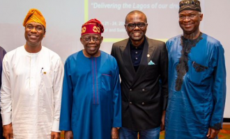 Tinubu, Fashola join Sanwo-Olu at retreat for Lagos cabinet members