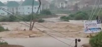 VIDEO: Flood sacks Abuja residents