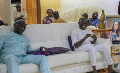 Obaseki pays surprise visit to Oshiomhole