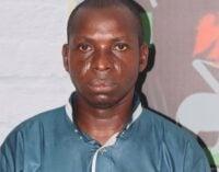 Wadume, Taraba 'kidnap kingpin', arraigned for 'terrorism'