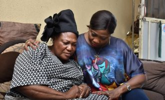 'Your son won't die in vain'— Dabiri-Erewa visits family of Nigerian doctor killed in Ukraine