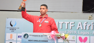 Quadri in 3rd place as Egyptians dominate 2019 ITTF Africa Cup