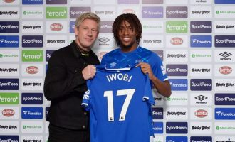 Iwobi: Everton's offer too good to turn down