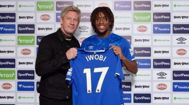 Iwobi: Everton's offer too good to turn down
