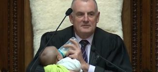 TRENDING VIDEO: New Zealand speaker feeds colleague's baby during plenary
