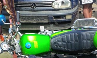 ORide motorcyclist crushed to death in Lagos