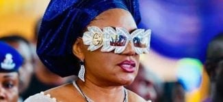 PHOTOS: Obiano's wife shows up at event with N995k sunglasses