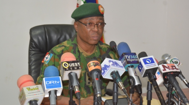 DHQ dismisses report on secret graveyard in north-east
