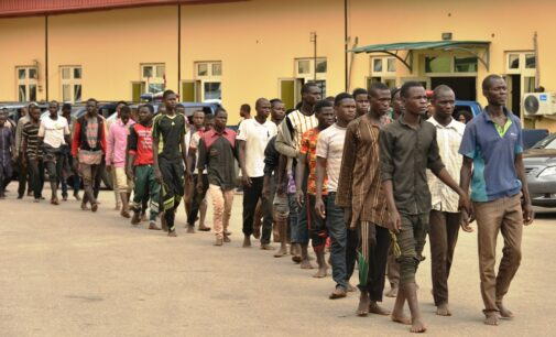 123 'suspicious-looking' men from Jigawa detained in Lagos