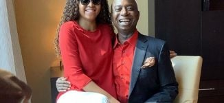Regina Daniels poses with her husband, Ned Nwoko, in new photos