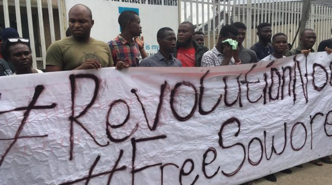 Sowore's arrest won't stop us from hitting the streets, says #RevolutionNow group
