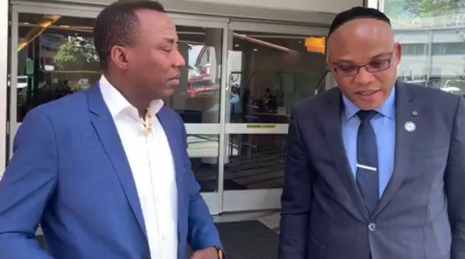 Sowore, Nnamdi Kanu conspired to overthrow Buhari - DSS