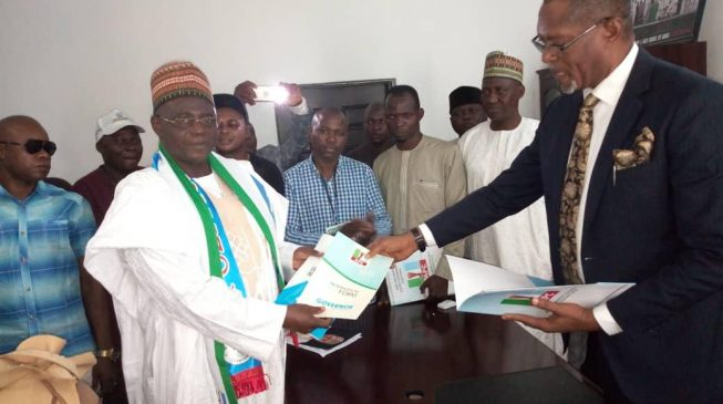 Sanni Lulu, Ex NFF Boss Picks Form for Kogi Guber Race